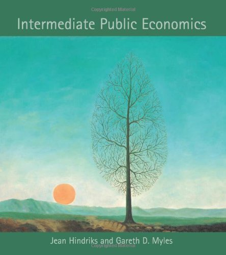 9780262083447: Intermediate Public Economics