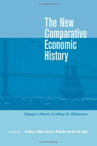 The New Comparative Economic History: Essays in Honor of Jeffrey G. Williamson.: Williamson, ...