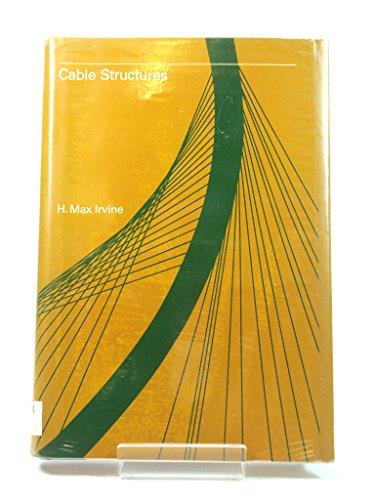 9780262090230: Cable Structures (Structural Mechanics)