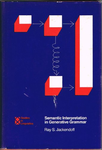 9780262100137: Semantic Interpretation in Generative Grammar