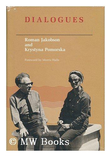 9780262100267: Jakobson: Jakobson-Pomorska Dialogues (Cloth) (English, French and Russian Edition)