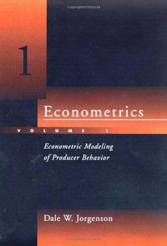 9780262100823: Econometrics: Econometric Modeling of Producer Behavior v. 1