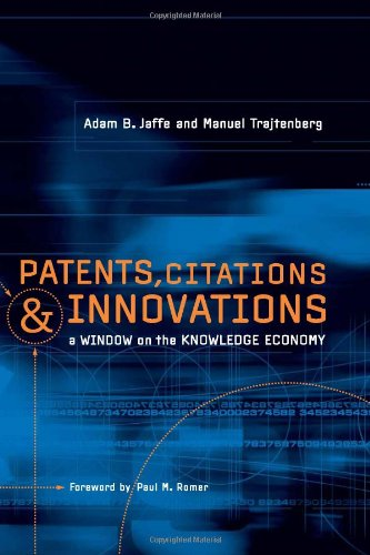 9780262100953: Patents, Citations, and Innovations: A Window on the Knowledge Economy