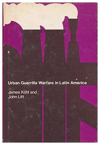 9780262110549: Urban Guerrilla Warfare in Latin America