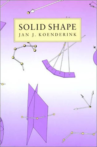 9780262111393: Solid Shape