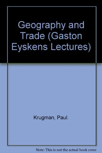 9780262111591: Geography and Trade (Gaston Eyskens Lectures)