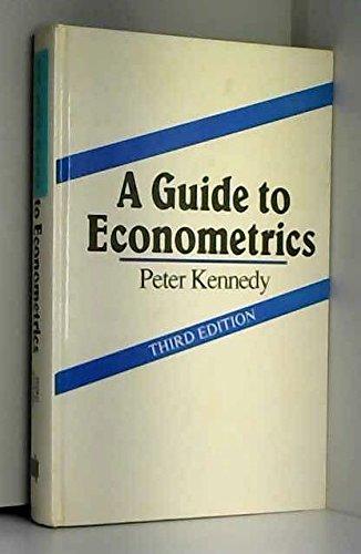 9780262111607: A Guide to Econometrics