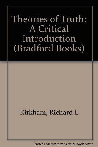9780262111676: Theories of Truth: A Critical Introduction (Bradford Books)