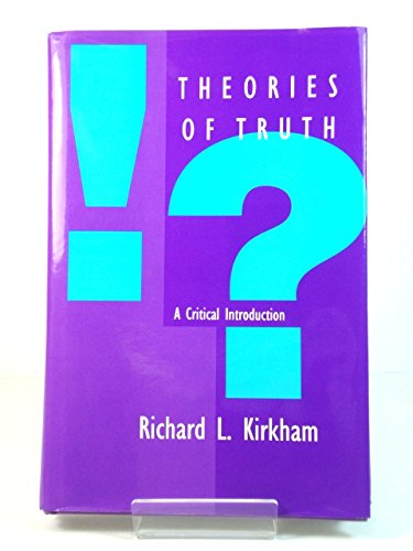 9780262111676: Theories of Truth: A Critical Introduction