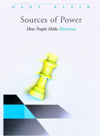 9780262112277: Sources of Power: How People Make Decisions