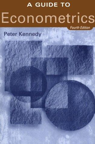 9780262112352: A A Guide to Econometrics 4th Ed(Cusa)