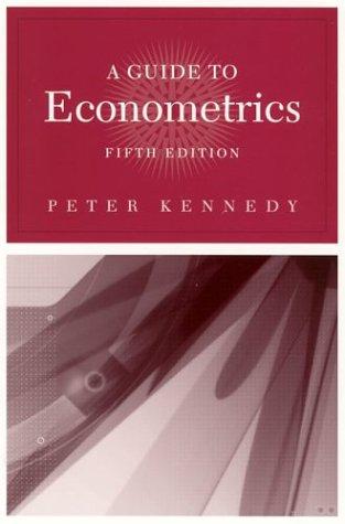 9780262112802: A Guide to Econometrics, 5th Edition