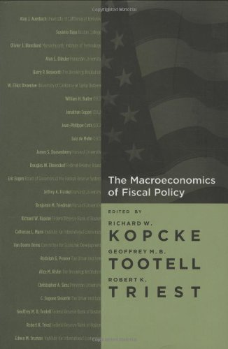 9780262112956: The Macroeconomics of Fiscal Policy (MIT Press)
