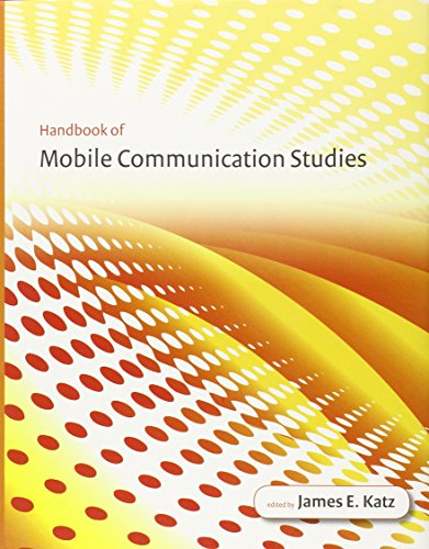 9780262113120: Handbook of Mobile Communication Studies