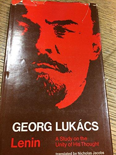 9780262120470: Lukacs: Lenin Study Unity His Thought