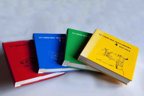 9780262121323: Le Corbusier Sketchbooks - 4 Vol. Set