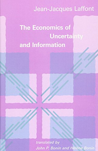 9780262121361: The Economics of Uncertainty and Information (MIT Press)