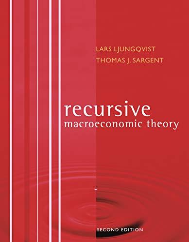 9780262122740: Recursive Macroeconomic Theory