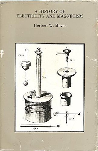 9780262130707: A History of Electricity and Magnetism