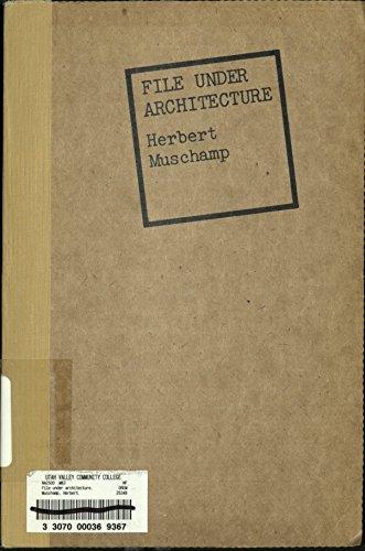 File Under Architecture: Herbert Muschamp