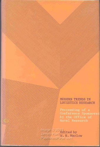 Modern Trends in Logistics Research: Proceedings of a Conference Held at The George Washington ...