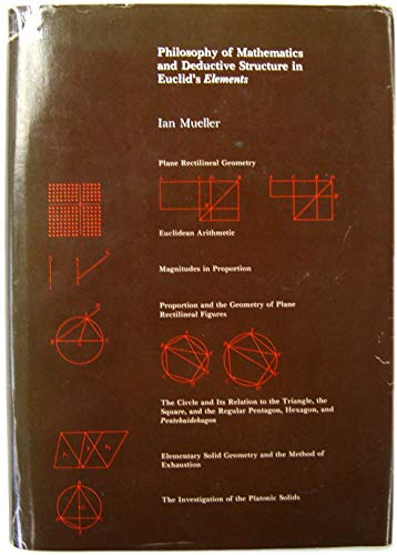 "9780262131636: Philosophy of Mathematics and Deductive Structure in Euclid's ""Elements"""