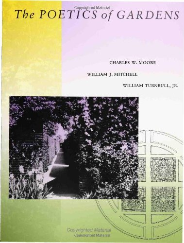 9780262132312: The Poetics of Gardens