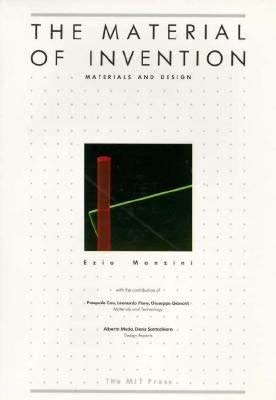 9780262132428: THE Manzini: the Material of Invention - Materials & Design