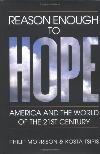 9780262133449: Reason Enough to Hope: America and the World of the Twenty-first Century