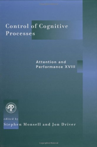 9780262133678: Control of Cognitive Processes: Attention and Performance XVIII