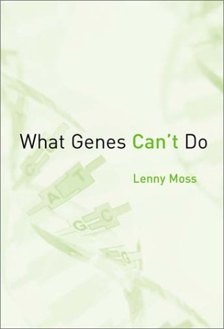 9780262134118: What Genes Can't Do (Basic Bioethics)
