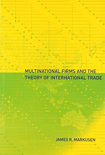 9780262134163: Multinational Firms and the Theory of International Trade