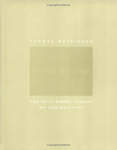 9780262134170: Being No One: The Self-Model Theory of Subjectivity