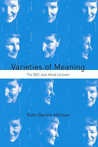 9780262134446: The Varieties of Meaning: The 2002 Jean Nicod Lectures