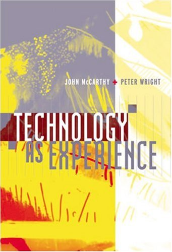 9780262134477: Technology as Experience