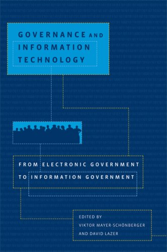 9780262134835: Governance and Information Technology: From Electronic Government to Information Government