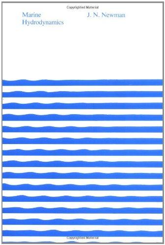 9780262140263: Marine Hydrodynamics