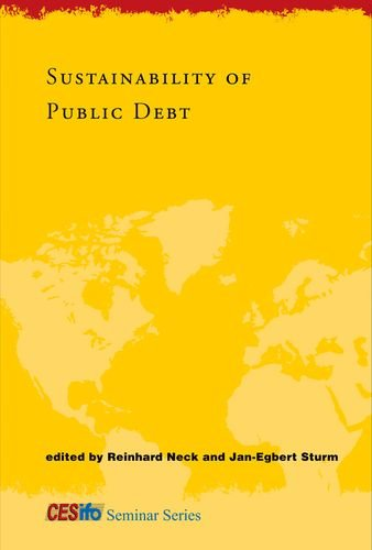 9780262140980: Sustainability of Public Debt (CESifo Seminar Series)