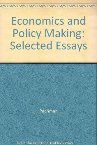 Economics for Policymaking: Selected Essays of Arthur M. Okun: Pechman, Joseph A. [Edt.]