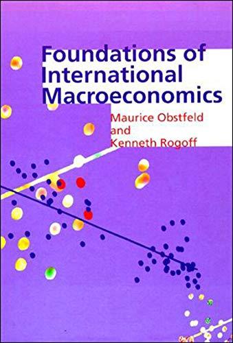 9780262150477: Foundations of International Macroeconomics (MIT Press)