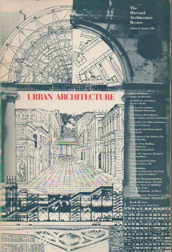 Urban architecture (The Harvard architecture review): No author specified