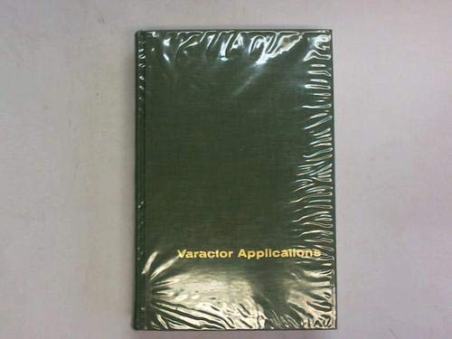 Varactor Applications (0262160072) by Paul Penfield; Robert P. Rafuse