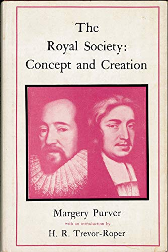 9780262160186: The Royal Society: Concept and Creation
