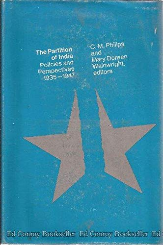 9780262160438: The Partition of India