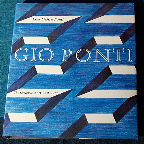 9780262161183: Gio Ponti: The Complete Work, 1923-1978