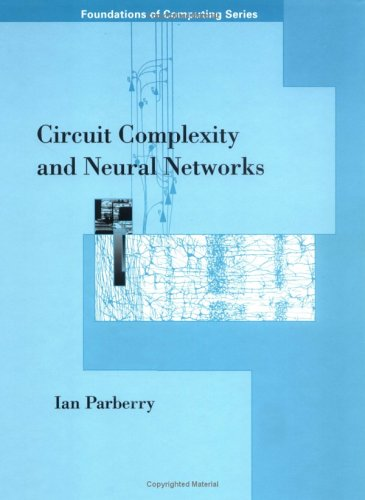 9780262161480: Circuit Complexity and Neural Networks (Foundations of Computing)