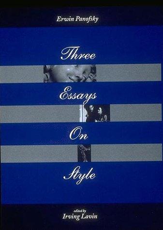 9780262161510: Three Essays on Style