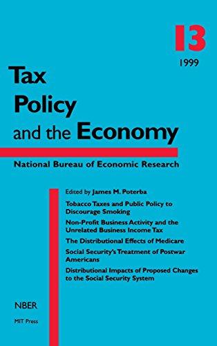 Tax Policy and the Economy: v. 13 (Hardback)