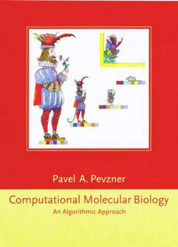 9780262161978: Computational Molecular Biology: An Algorithmic Approach