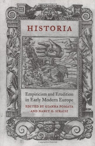9780262162296: Historia: Empiricism And Erudition In Early Modern Europe